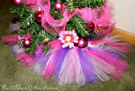Tutu Tree Skirt The Ribbon Retreat Blog