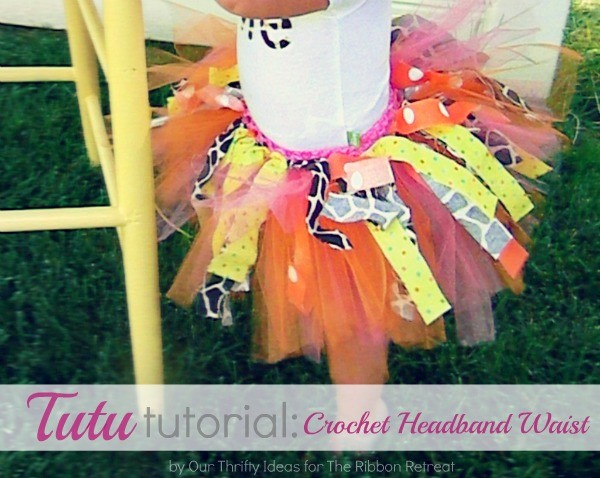 Use our Tutu Tutorial with crochet headbands for a quick, easy, and full tutu that any girl will love!
