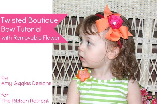 Learn how to make the cutest bow around with our Twisted Boutique Bow Tutorial!