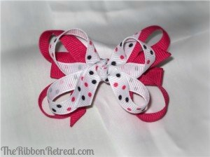 Twisted Boutique Bow - {The Ribbon Retreat Blog}