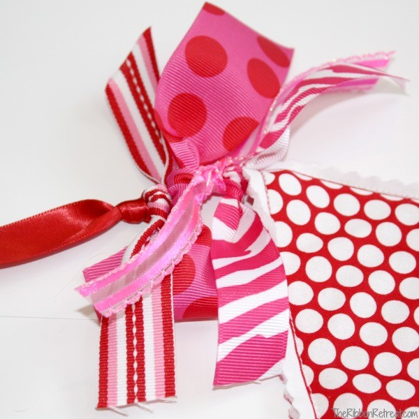 Valentine's Day Banner - The Ribbon Retreat Blog