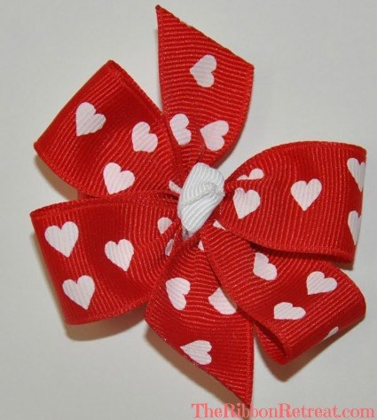 Valentine's Day Bow Feature - {The Ribbon Retreat Blog}
