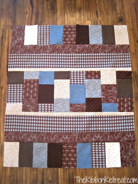 Vintage Baby Quilt - {The Ribbon Retreat Blog}