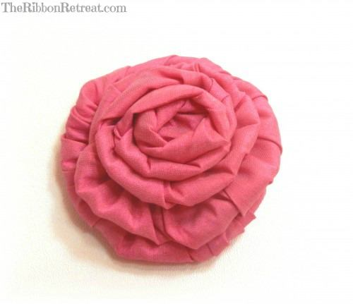 Wired Ribbon Rose - {The Ribbon Retreat Blog}