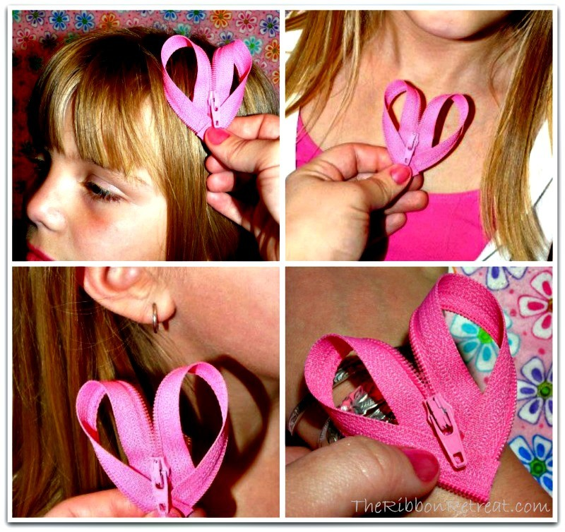 Zipper Heart - {The Ribbon Retreat Blog}