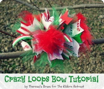 Over 35 Christmas Craft Tutorials - From sewing to hair bows, all with step-by-step instructions! {The Ribbon Retreat Blog}