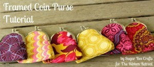 Framed Coin Purse - The Ribbon Retreat Blog
