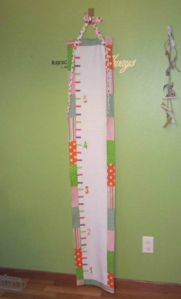 hang growth chart one foot off the ground