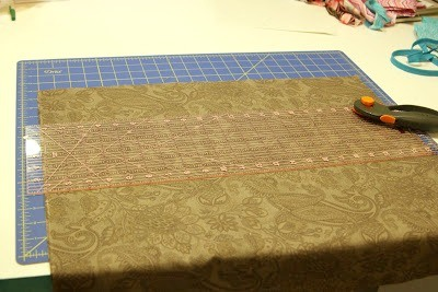 HOLIDAY Strip Table Runner Tutorial - Use lots of fun fabrics to create fun table runner, perfect for any holiday! {The Ribbon Retreat Blog}