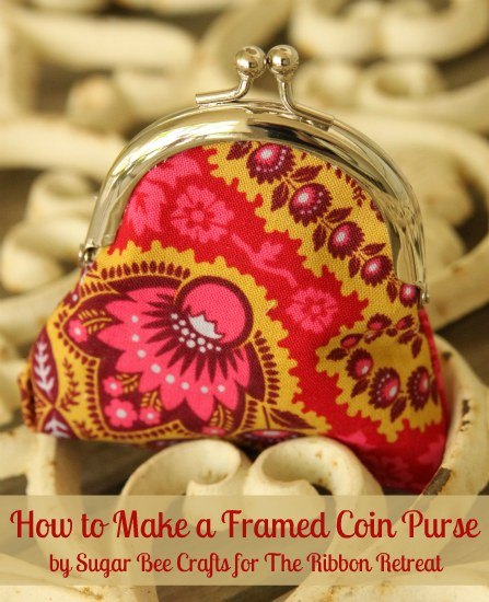 learn how to make a framed coin purse