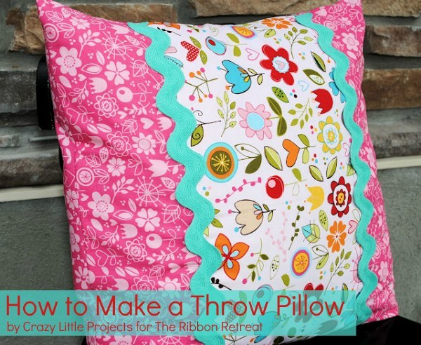 Learn how to make a throw pillow