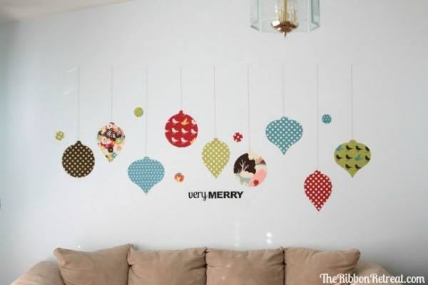 How to Make Fabric Wall Decals - Three different ways to make fabric decals and the pros and cons. {The Ribbon Retreat Blog}