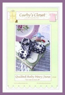 how to make mary jane baby shoes