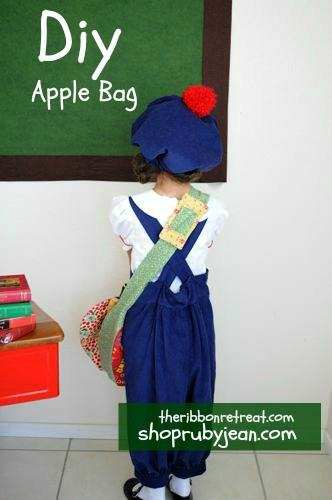 My Apple Bag Tutorial - {The Ribbon Retreat Blog}