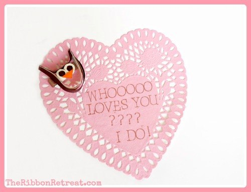 "alt=""Owl Ribbon Sculpture Tutorial - So cute and easy!! {The Ribbon Retreat Blog}"""
