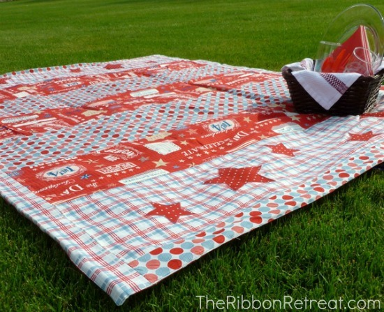 waterproof picnic blanket