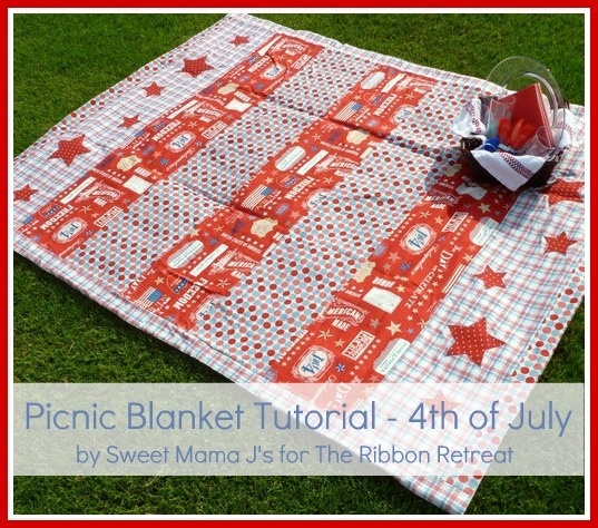 how to make a waterproof picnic blanket