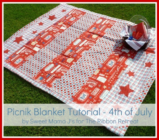 learn how to make a waterproof picnik blanket!