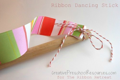 How to Make a Ribbon Dancing Stick - Finished Product