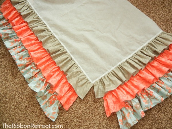 Ruffled Crib Skirt Tutorial The Ribbon Retreat Blog Adorable Crib Skirt Pattern
