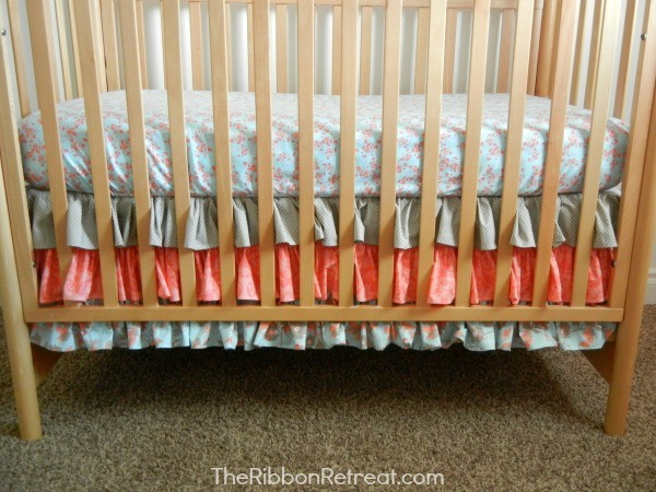 Ruffled Crib Skirt Tutorial The Ribbon Retreat Blog Beauteous Crib Skirt Pattern