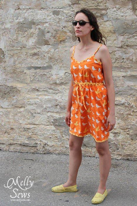 Summer Bias Dress Tutorial - The Ribbon Retreat Blog