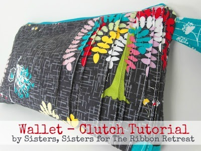 Make a super cute Wallet or Clutch with adorable pleats using our tutorial.