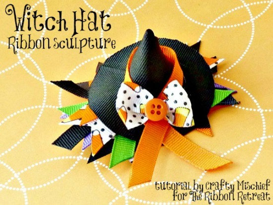 DIY Halloween Crafts - lots of tutorials - {The Ribbon Retreat Blog}