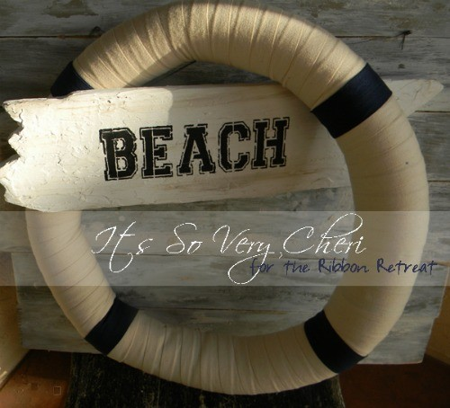 Nautical Wreath - The Ribbon Retreat Blog