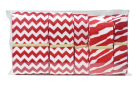 "Product Image - 7/8"" - 2 1/4"" Zebra & Chevron Grosgrain Ribbon ..."