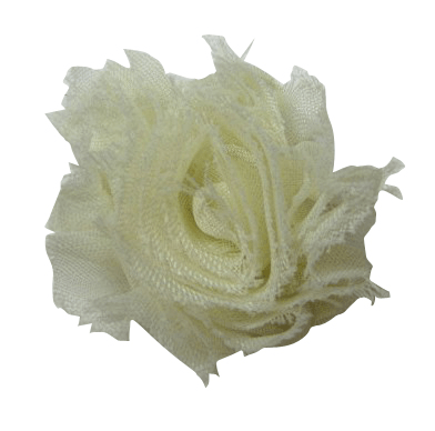 Frayed Shabby Chiffon Flowers Mini Measures Approx 1 3 4 Quot