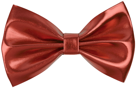 4 Quot Faux Leather Bows Pre Made