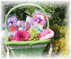 Ribbon Gift Basket