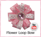 Flower Loop Bow