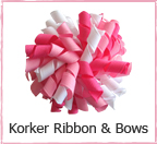 Korker Ribbon and Bows